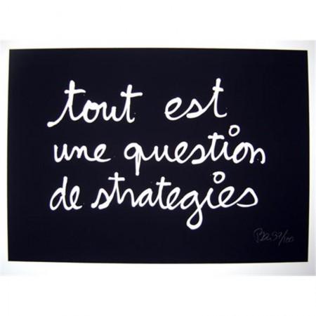 Tout est une question de strategie