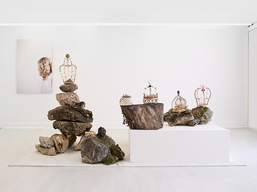Virginie Le TouzeExposition Galerie Eva Vautier Juillet 2013
