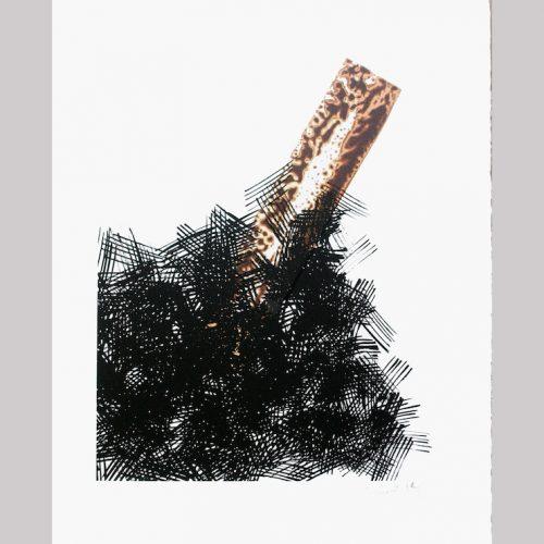bernard-pages-n-2289-sans-titre-2005-serigraphie-six-couleurs-sur-papier-arches-de-250gserigraphie-executee-a-partir-dun-dessin-50-x-40-cm