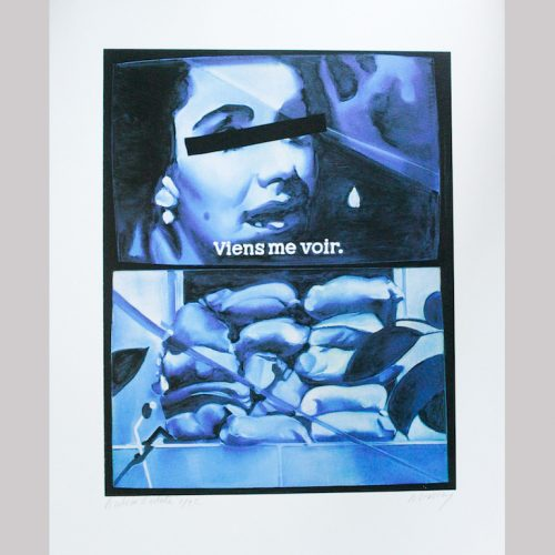 jacques-monory-n-2288-viens-me-voir-supplement-no-2005-serigraphie-en-cinq-couleurs-sur-papier-arches-de-250gserigraphie-executee-a-partir-dun-50-x-40-cm